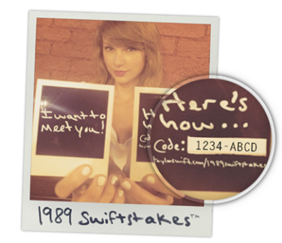 Taylor Swift Sweepstakes: Win Concert Tickets, Autographs and More