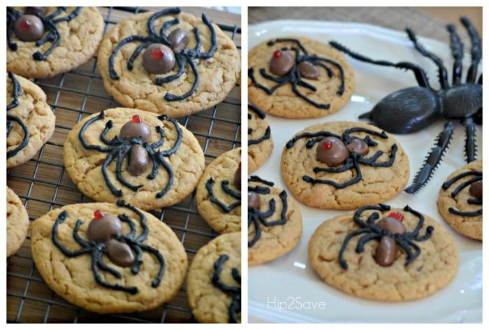 Spider Cookies Halloween Hip2Save
