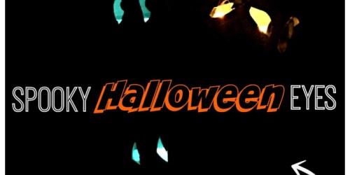DIY Spooky Halloween Eyes