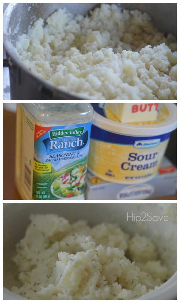 How to make Ranch mashed potatoes