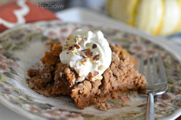 Pumpkin Dump Cake Recipe Hip2Save