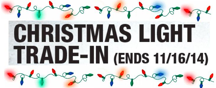 - Home Depot: Christmas Light Trade-In (Thru 11/16) - Hip2Save