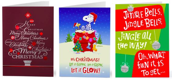 Walgreens Christmas Card.Walgreens Hallmark Cards 49 After Points Hip2save