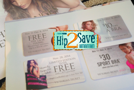 a73f15511cd6 As I mentioned in the Coupon Round-Up last night, be sure to watch your  mailbox for a possible Victoria's Secret mailer with a *HOT* FREE Lacie  Thong or ...