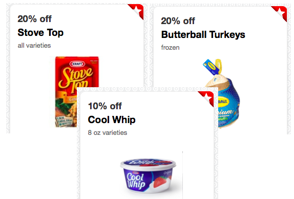 Target 20 Off Butterball Frozen Turkey Stove Top Stuffing Cartwheel Offers Thanksgiving Deals Hip2save