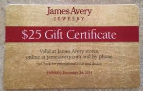 image relating to James Avery Printable Coupons named Coupon Spherical-Up (11/25/2014) - Hip2Help save