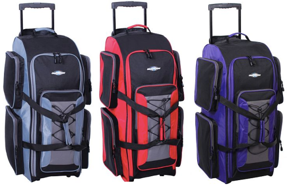 Head on over to Kohl s.com where you can score these Destinations Luggage 32 -inch Wheeled Duffel Bags (available in 6 different colors) for only  19.99! cad389cfd426b