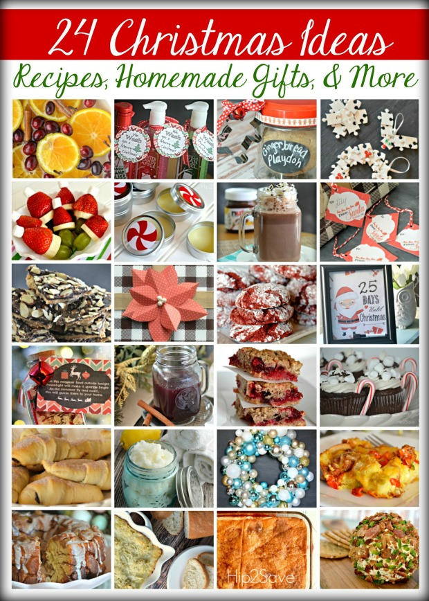 24 Christmas Ideas Recipes, Homemade Gifts, & More Hip2Save