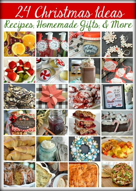 24 Christmas Ideas: Recipes, Homemade Gifts & More | Hip2Save