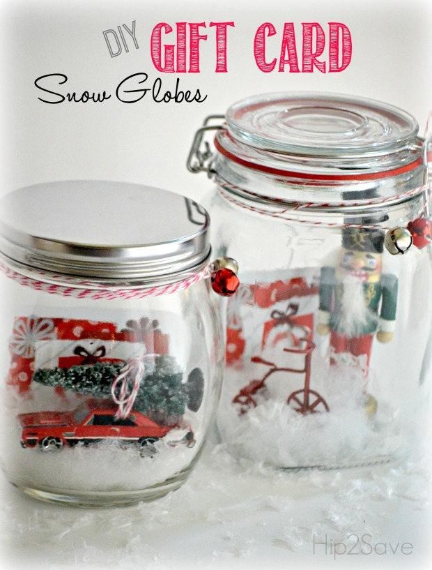 DIY Gift Card Snow Globes Hip2Save