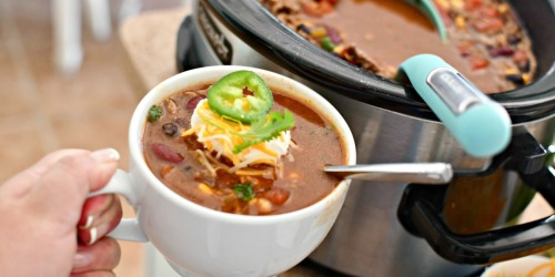 Make This Hearty Ranch Taco Soup In Your Crock-Pot!