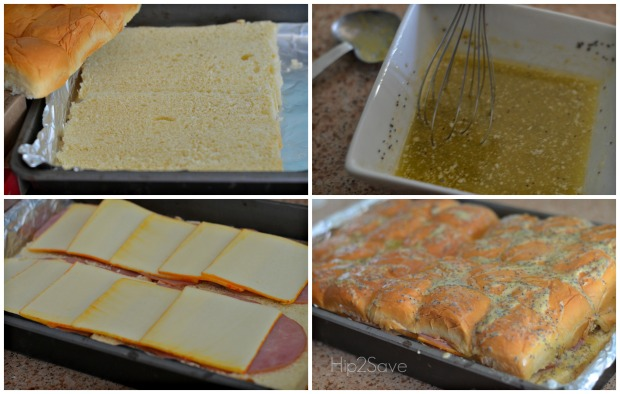 How to make easy baked sandwiches