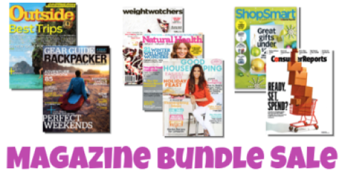 Magazine Bundle Sale: Great Deals on US Weekly, ShopSmart, Consumer Reports & More