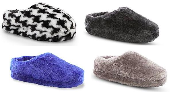 Kmart.com: Bongo Plush Slippers Only $3