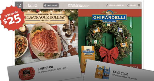 The Coupon Book Save Over 25 W Printable Coupons Ghirardelli Skippy Ziploc More Hip2save