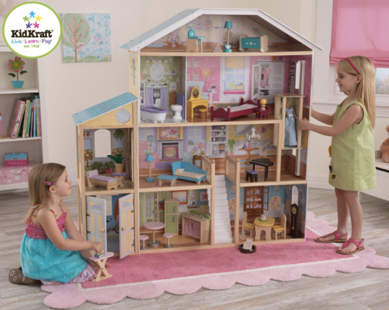 Amazon Highly Rated Kidkraft Majestic Mansion Dollhouse With 34