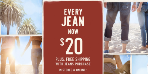 Hollister.com: Men's & Women's Jeans Only $20 + FREE Shipping (Regularly Up To $59.95!)