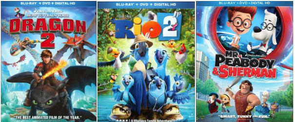 Best Buy Select Blu Ray Dvd Movies Only 9 99 W Free Store Pickup Rio 2 The Fault In Our Stars More Hip2save