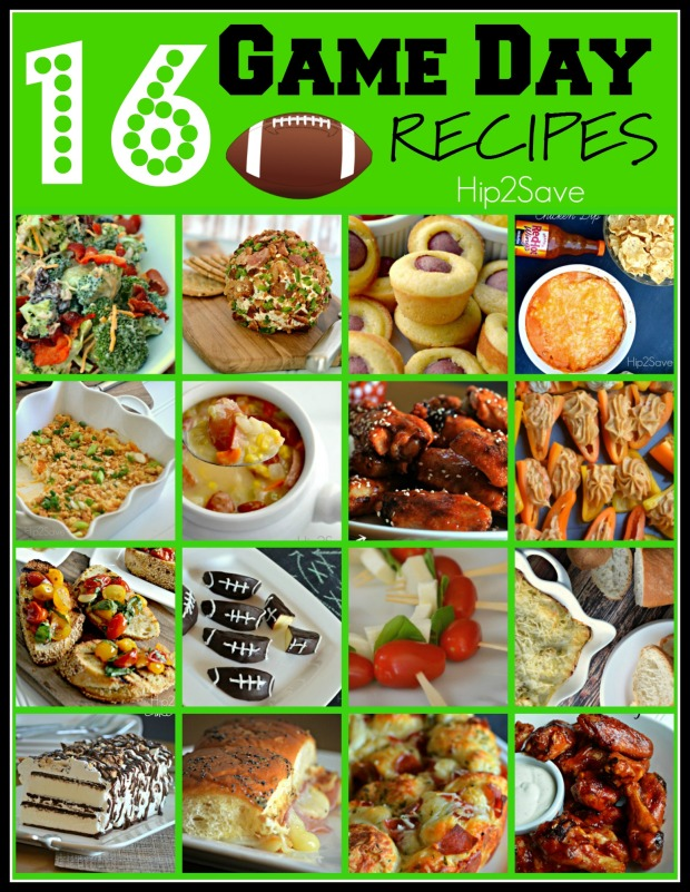 16 Game Day Recipes Hip2Save