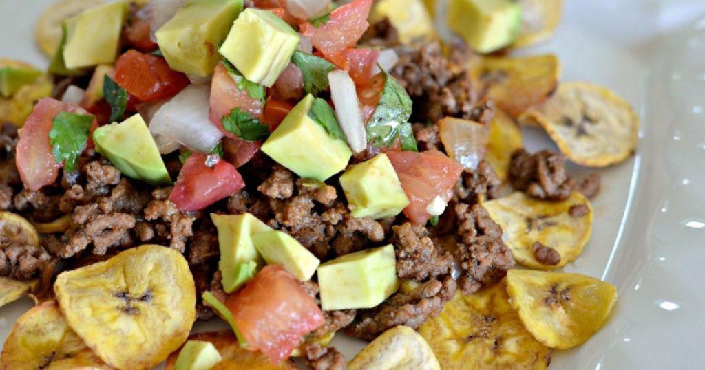 plantain nachos recipe
