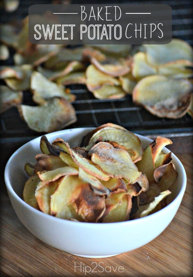Baked Sweet Potato Chips Hip2Save