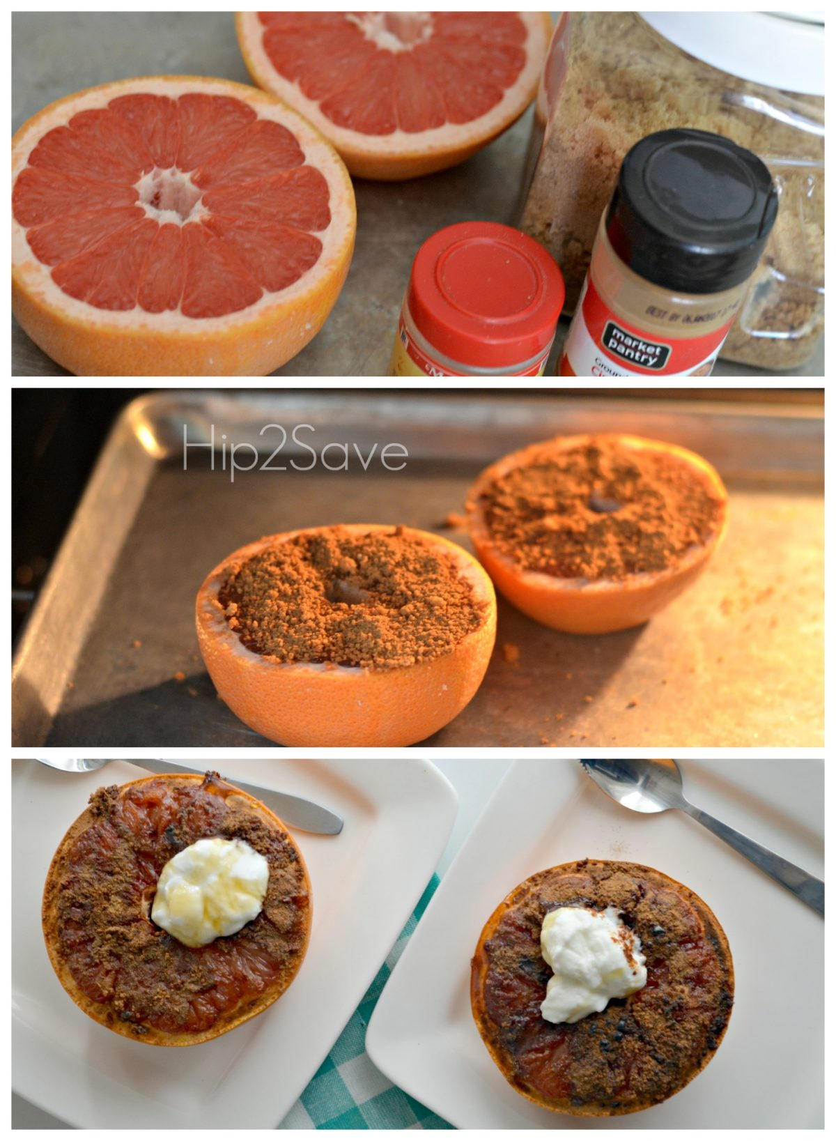 broiled Grapefriut Recipe Hip2Save