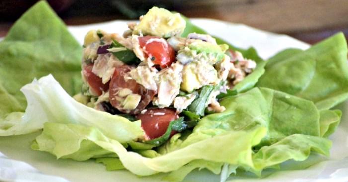 Tuna Ceviche (Whole30 Approved Lunch Recipe)