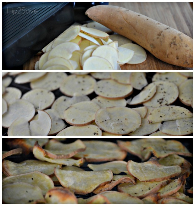 Easy Baked Yam Chips Hip2Save