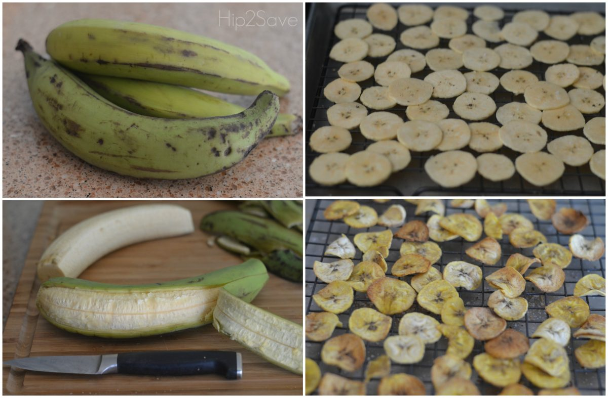 How to make plantain chips Hip2Save