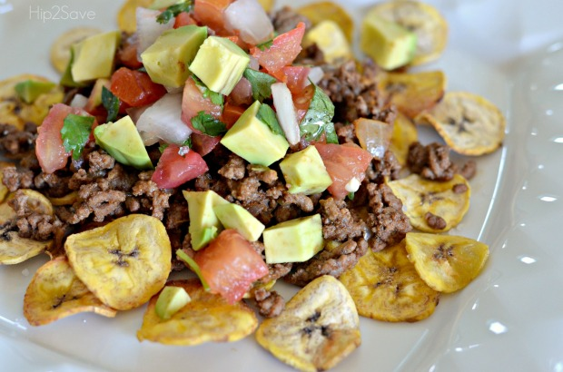 Plantain Nachos Whole 30 Meal Idea Hip2Save