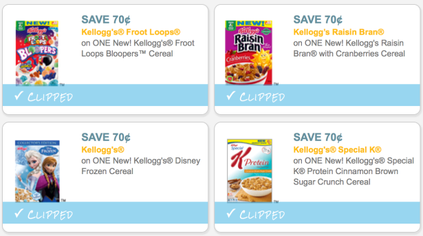 5 High Value $0.70/1 Kellogg's Cereal Coupons (Save on ...