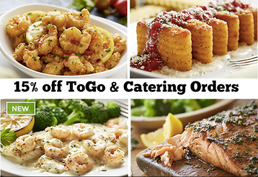Olive garden 15 off togo catering orders join eclub get a free dessert or appetizer for Olive garden com join