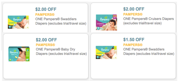 Lots Of Diaper Printable Coupons Including Pampers Huggies Luvs Awesome Store Deals Hip2save
