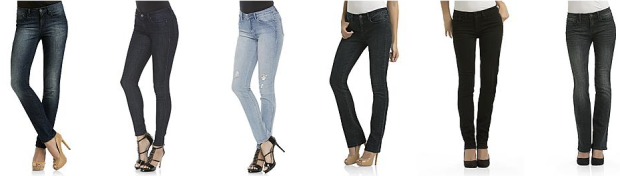 Sears Com Kardashian Kollection Women S Jeans Only 14 99