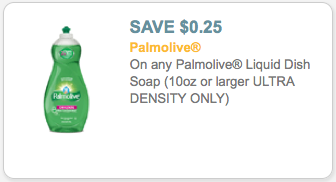 image relating to Palmolive Printable Coupon known as Unusual $0.25/1 Palmolive Dish Liquid Printable Coupon \u003d Simply