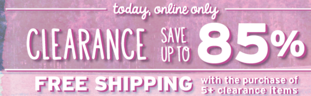 421497ab019 Justice  Up to 85% Off Clearance Sale (Today Only) + FREE Shipping with 5  Clearance Items