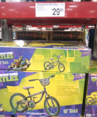 caac66bc530 Sam's Club Members: Teenage Mutant Ninja Turtles Boys 16″ Youth Bikes  Possibly Only $29.81?!