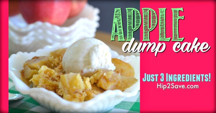 "3 Ingredient Apple ""Dump"" Cake"