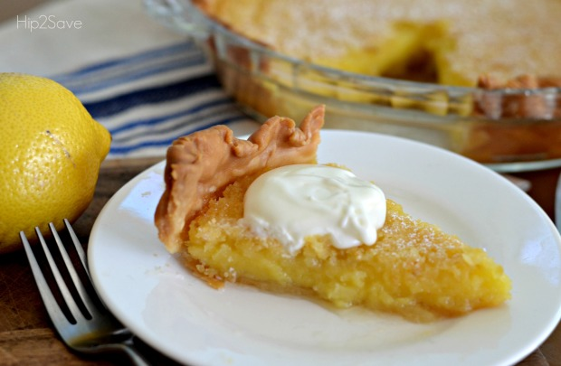 Blender Lemon Pie Recipe Hip2Save