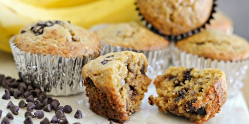 Banana Oat Muffins Recipe (Low Sugar AND No Oil)