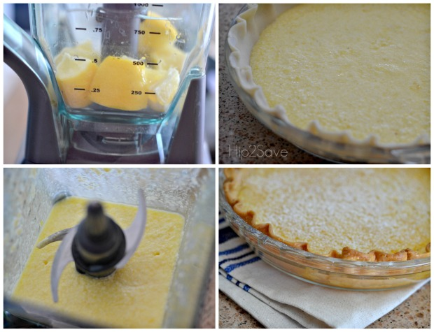 how to make an easy lemon blender pie Hip2Save