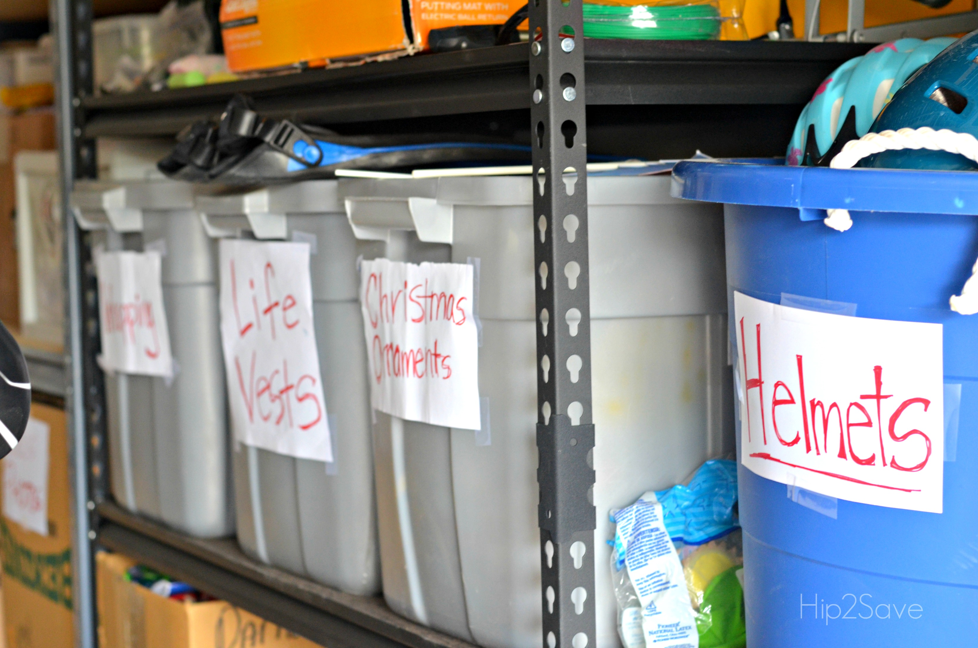 Labeling Garage Contents Hip2Save