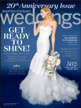 Planning A Wedding Through Tomorrow Night Only Head On Over To Mags Up One Year Subscription Martha Weddings Magazine