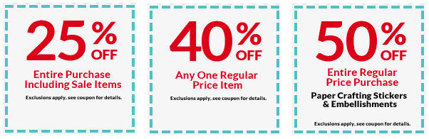 Craft Store Coupon Roundup: A C  Moore, Michaels, Jo-Ann