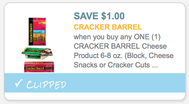 graphic about Cracker Barrel Coupons Printable called Significant Expense $1/1 Cracker Barrel Cheese Products Coupon + 25