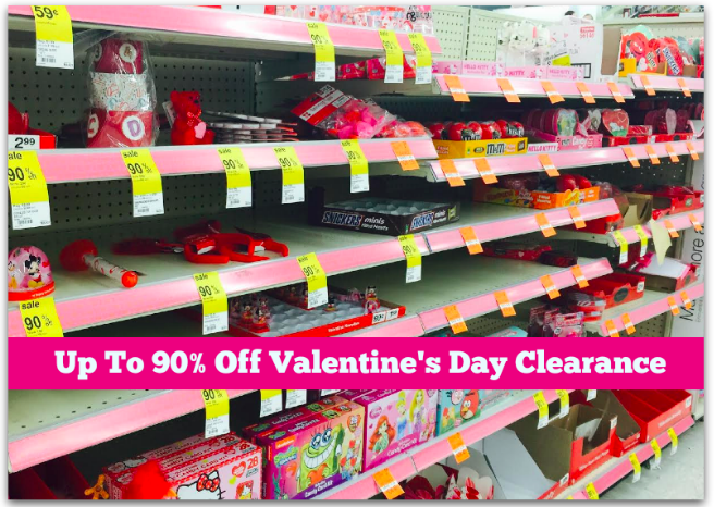 c1184e6b6d8b Walgreens  Up To 90% Off Valentine s Day Clearance - Hip2Save