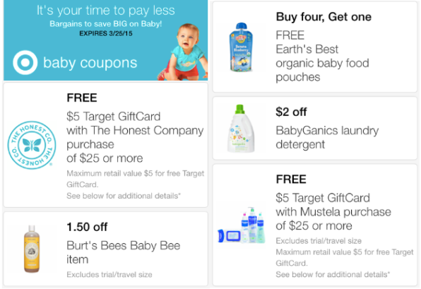 Target: New Baby Mobile Coupons (Save on Pampers, Burt's Bees