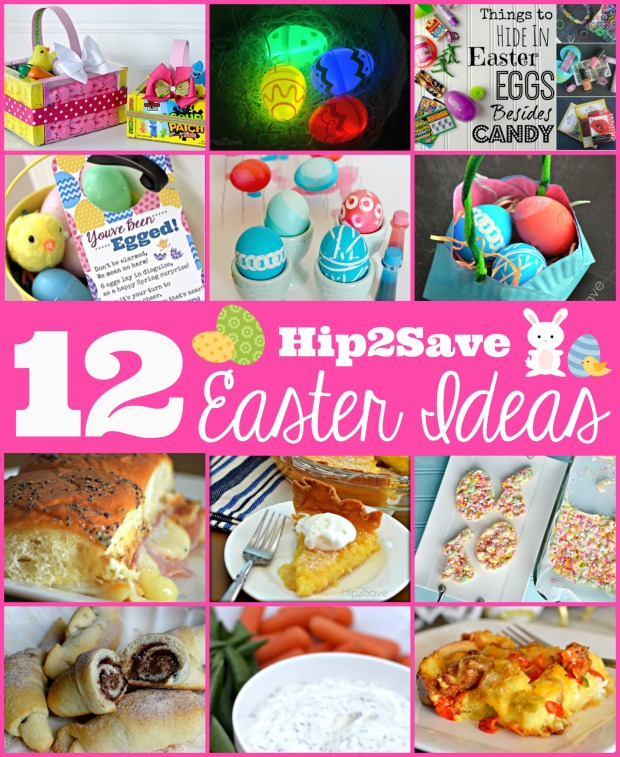 12 Hip2Save Easter Crafts AND Recipes