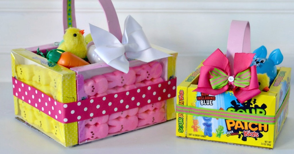 Edible Easter Baskets Easy Easter Craft Hip2save