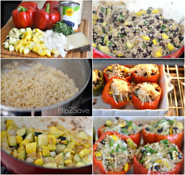 Hip2Save How to make stuffed peppers